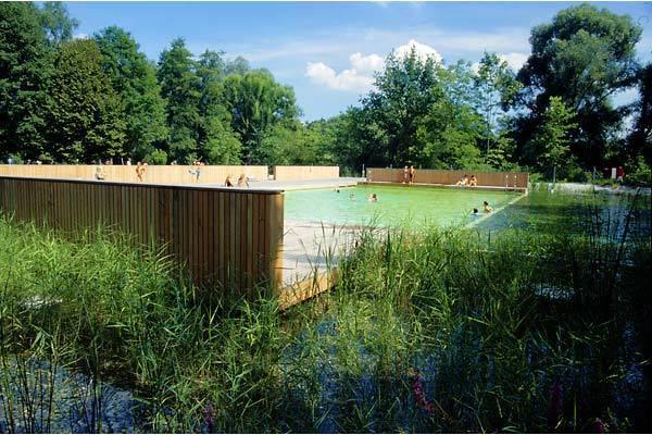 Das Biobad mit Regenartionsbereich