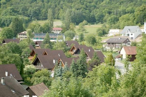 Die Buhalde ist ein Quartier im Norden des Dorfes.