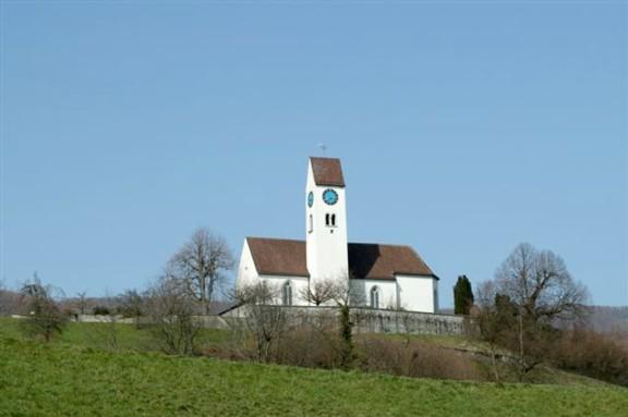Die Kirche Kirchberg steht auf Küttiger Boden.